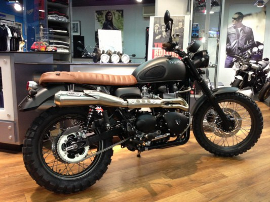 Scrambler by British Racing